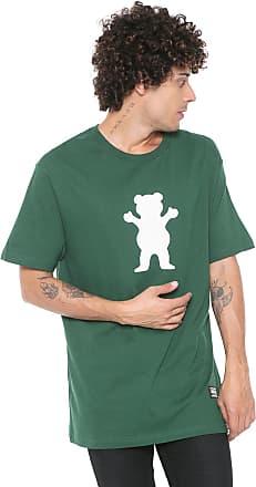 Grizzly Camiseta Grizzly Og Bear Logo Verde