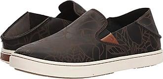 Olukai Pehuea Lau (Black/Black) Womens Shoes
