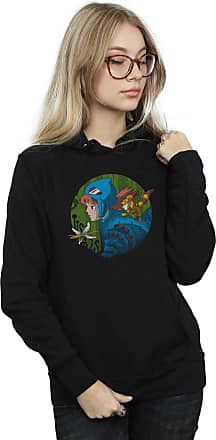 Absolute Cult Vincent Trinidad Womens Into The Toxic Jungle Hoodie Black Small