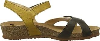 Think Womens Dumia_484375 Sling Back Sandals, (Oliv/Kombi 63), 4 UK