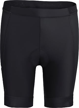 Vaude Mens Advanced Pants III Fahrradhose Herren in black, Größe L