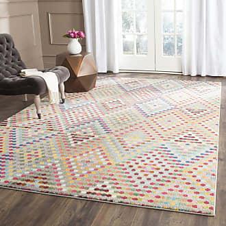 Safavieh Teppich Alina Mehrfarbig Rechteckig 120x180 cm (BxT) Modern Gepunktet Kunstfaser