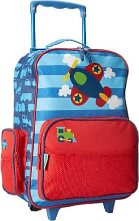 Stephen Joseph Little Boys Rolling Luggage, Blue Airplane, One Size, 1 Pack