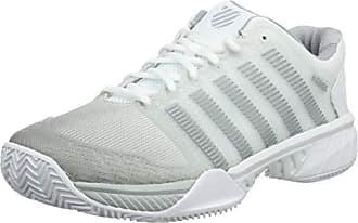 best service e1f7f 9d056 K-Swiss Hypercourt Express HB, Chaussures de Tennis Homme, Blanc (White