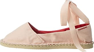 Havaianas Womens Origine Slim Espadrilles, Ballet Rose, 2 UK 37 EU