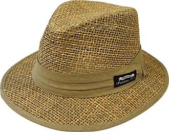 Panama Jack Mens Matte Seagrass Safari Hat Large