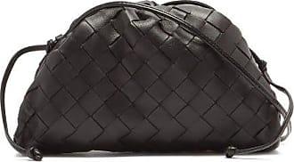 Bottega Veneta Pouch Small Intrecciato-leather Clutch - Womens - Black
