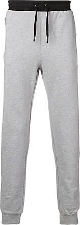 Karl Lagerfeld Calça esportiva com ajuste no cós - Cinza