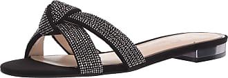 Jessica Simpson Womens Alisen2 Flat Sandal, Black, 5.5 UK