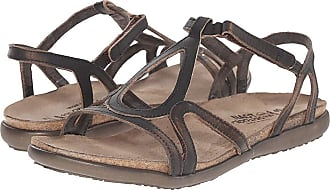 739e3d629c3e Naot Dorith (Volcanic Brown Leather) Womens Sandals