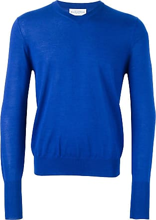 Ballantyne Suéter de cashmere gola V - Azul