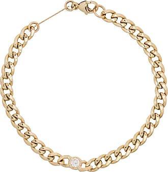 Zoë Chicco Pulseira de ouro 14k com aplicação de diamante - YELLOW GOLD