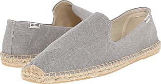 cc17c53a8ca5 Soludos Smoking Slipper (Washed Canvas Light Gray) Mens Slippers