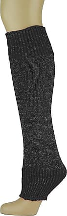 MySocks Leg Warmers Black Speckled Glitter