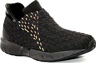 bernie mev. Womens Razer Pump Fashion Sneaker (Black Print Plasma, 5)