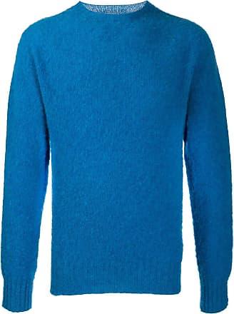 Ymc You Must Create Suéter decote careca - Azul