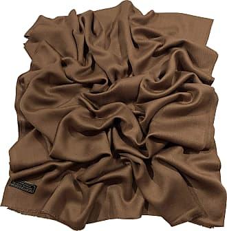CJ Apparel Brown Fringe Solid Colour Design Shawl Scarf Wrap Stole Throw Pashmina Pashminas CJ Apparel NEW