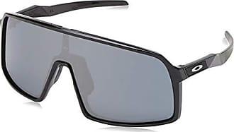 Oakley Mens Sutro Rectangular Sunglasses, Polished Black, 0 mm