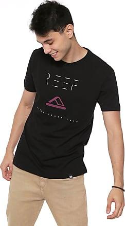 Reef Camiseta Reef Minimalism Preta