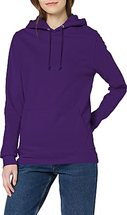 Awdis Womens Girlie College Hoodie, Purple, 16 (Manufacturer Size:X-Large)