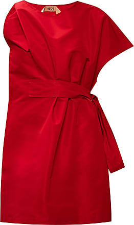 N°21 Dress With Tie Fastening Womens Red