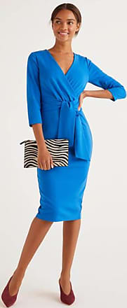 Boden Sophie Ponte-Kleid Blue Damen Boden