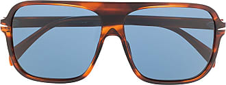 David Beckham Óculos de sol quadrado - Azul