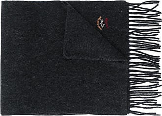Paul & Shark wool-cashmere fringed scarf - Preto