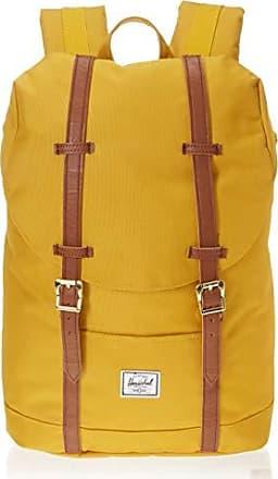 Herschel Retreat Mid-Volume Backpack, Arrowwood/Tan Synthetic Leather, One Size