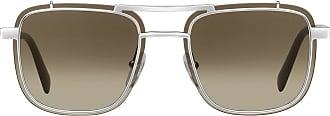 Prada Game square frame sunglasses - Cinza