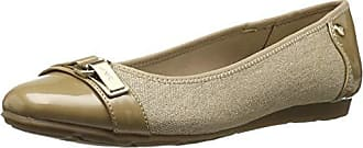 Anne Klein AK Sport Womens Able Ballet Flat, Natural Multi Fabric, 7 M US