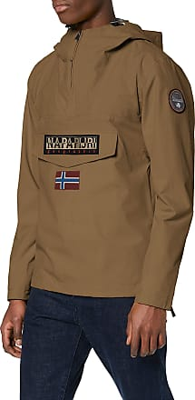 Napapijri Mens Rainforest M Sum 1 Jacket, Brown (Kangaroo Brown W051), XXX-Large