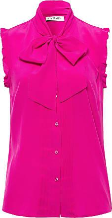 Uta Raasch Tunic top made of 100% silk Uta Raasch bright pink