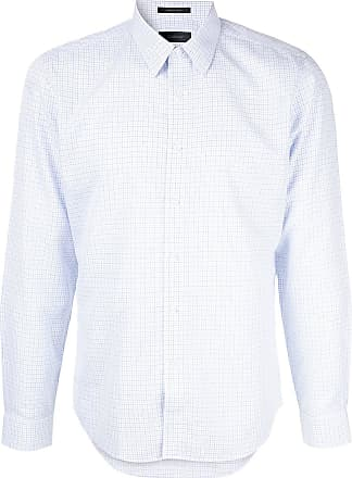 Durban Camisa com padronagem - Branco