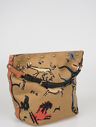 Dior Canvas SAUVAGE Bucket Bag Größe Unica