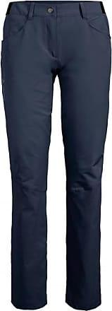 Vaude Skarvan Pants II Trekkinghose für Damen | schwarz/blau