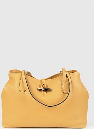 Longchamp Leather Tote Bag size Unica