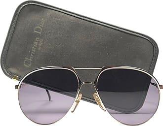 92722b5507c7 Dior New Vintage Christian Dior Monsieur 2332 Gold Grey Sunglasses 1970s  Austria