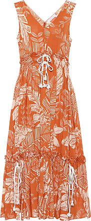 See By Chloé Sleeveless printed cotton dress