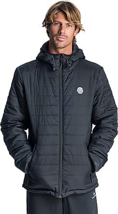 Rip Curl Rip Curl Originals Insulated Jacket Men,Buffer Jacket,Midlayer,Insulation Jacket with Hood,Lightweight,Black,L