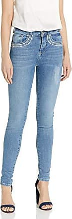 Desigual Womens Louane Embroidered Detail Denim Trousers