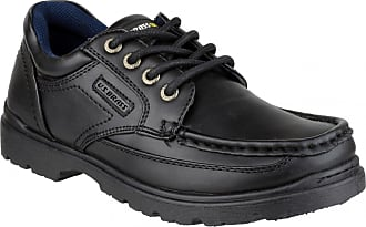US Brass US Brass Stubby 3 Boys Back To School Lace Up Shoe / Boys Shoes (6 UK) (Black)