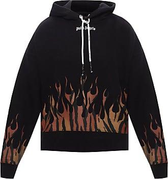 Palm Angels Hooded Sweatshirt Mens Black