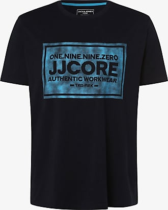Jack & Jones Herren T-Shirt - JCOTate - Große Größen blau