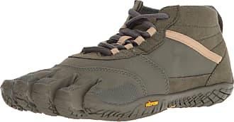 Vibram Fivefingers Mens V-Trek Military/Dark Grey Hiking Shoe, 11.5-12