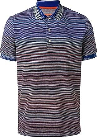 Missoni striped polo shirt - Blue