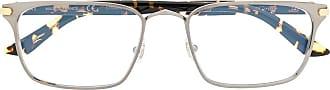 Cartier Armação de óculos retangular C Decor - Preto
