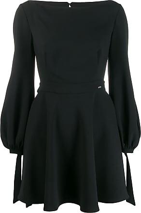 Elisabetta Franchi open back mini dress - Black