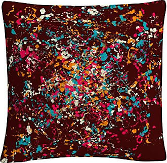 Trademark Fine Art Speckled Colorful Splatter Abstract 3 by ABC