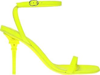 VETEMENTS Sandals With Decorative Heel Womens Neon